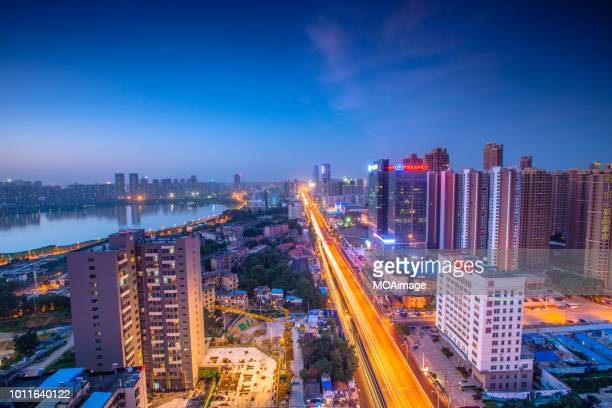 Urban landscape in Wuhan,China