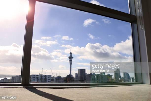 Urban landscape of Auckland city