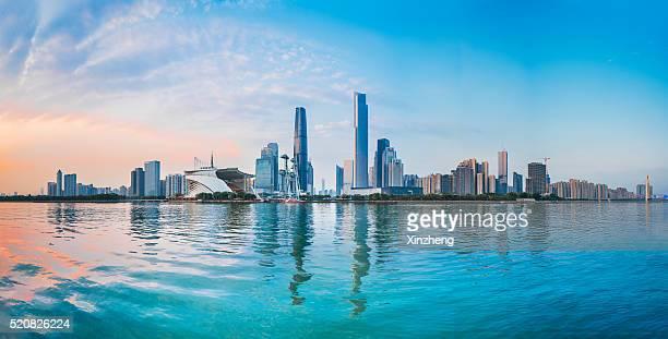 Urban landscape of Guangzhou