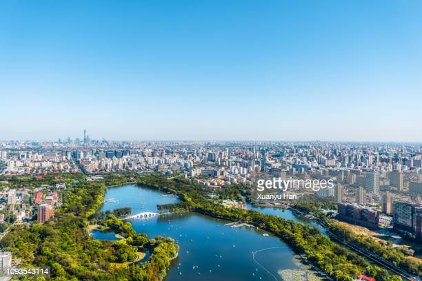 urban landscape - beijing stock pictures, royalty-free photos & images