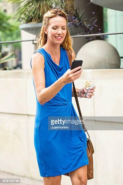 Urban Mature Blond Woman