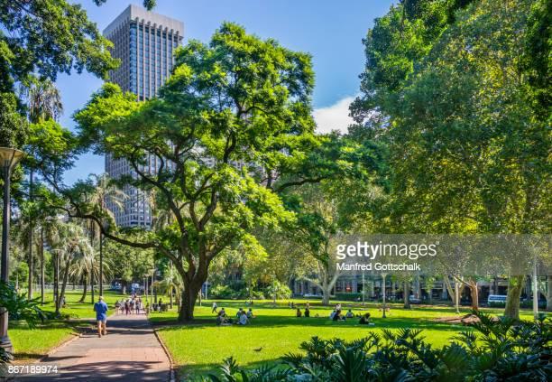 urban oasis of Hyde Park Sydney