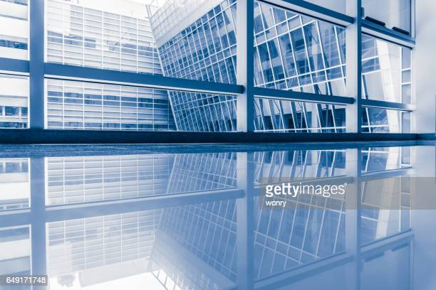 Urban office building indoors