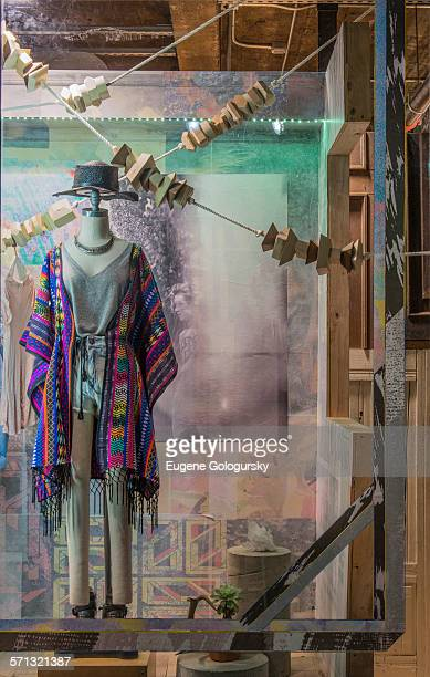 Urban Outfitters New York window display 2014 as Part of the World Fashion Window Displays on March 18 2014 in New York United States