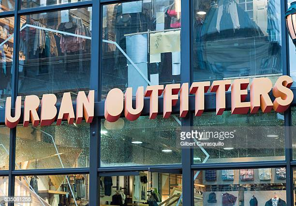 Urban Outfitters retail store sign in Philadelphia PA