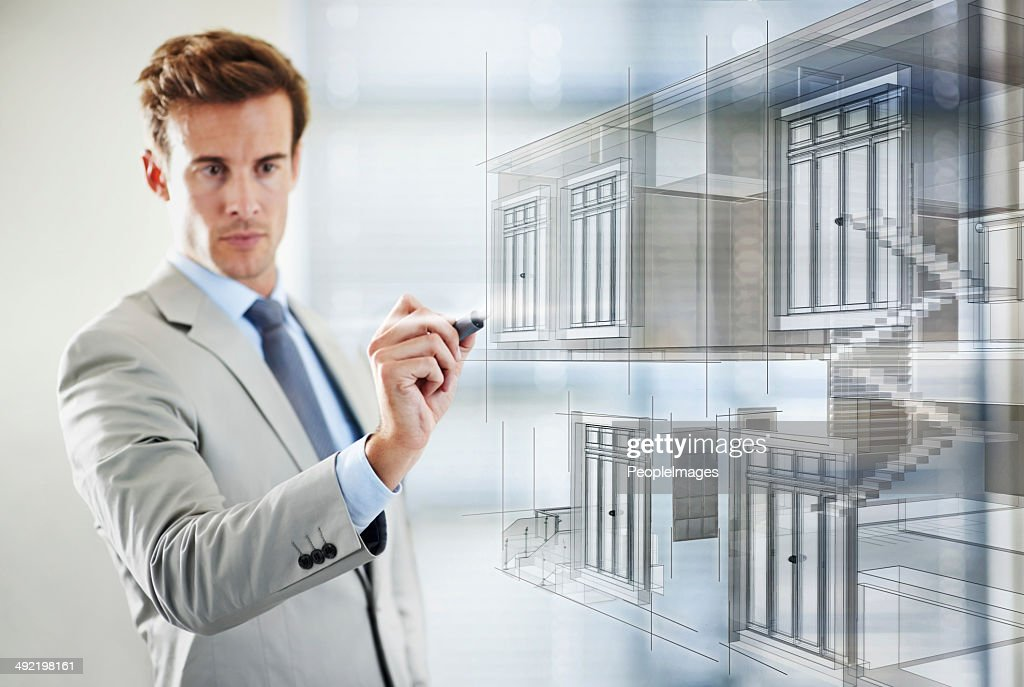 Urban planning in a digital age : Stock Photo
