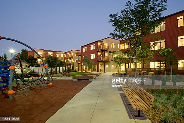urban renewal multi family housing project - urban renewal stock pictures, royalty-free photos & images