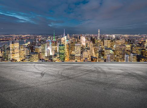 Urban Road, Manhattan, NYC - gettyimageskorea