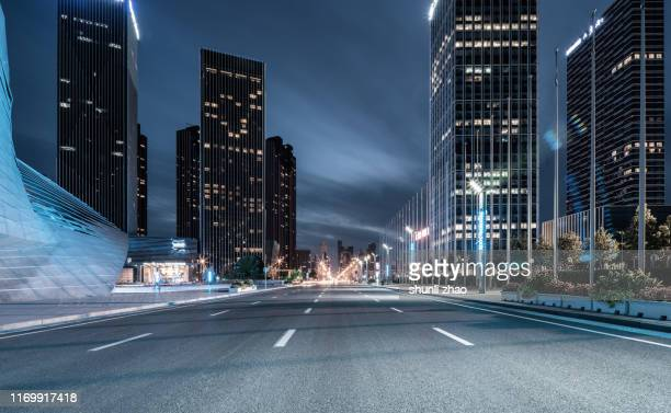 urban road - liaoning province stock pictures, royalty-free photos & images