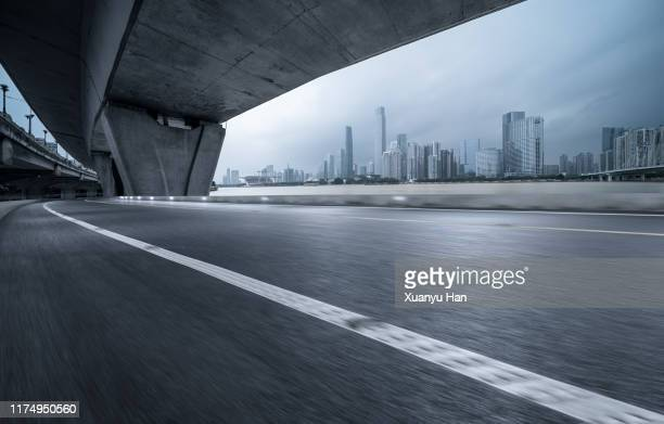 urban road - guangzhou stock pictures, royalty-free photos & images