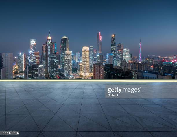 urban road - guangzhou foto e immagini stock
