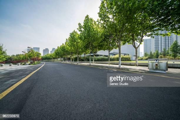 urban road - nanjing road stockfoto's en -beelden
