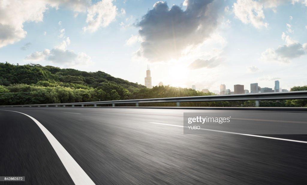 Urban Road,USA : Stockfoto