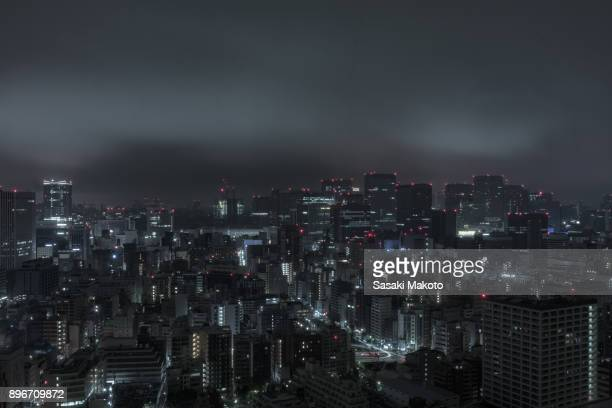 urban scape of Tokyo
