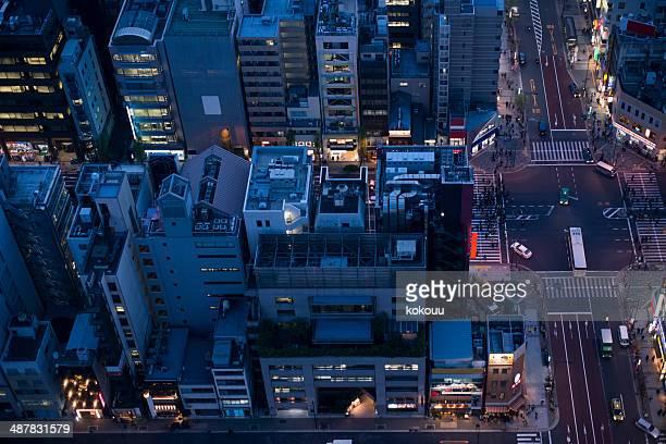 東京の都会の風景