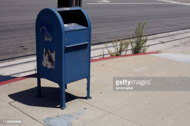 usa. urban scene. - mailbox stock pictures, royalty-free photos & images