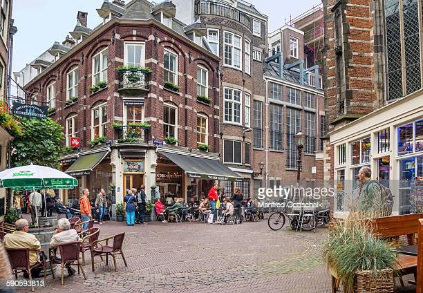 Urban scenery at Nieuwe Kerk