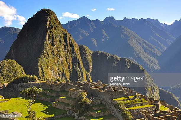 "urban sector (three portals) in machu picchu, peru - ""markus daniel"" stock pictures, royalty-free photos & images"