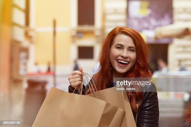 urban shopping day