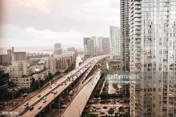 Urban side of Toronto