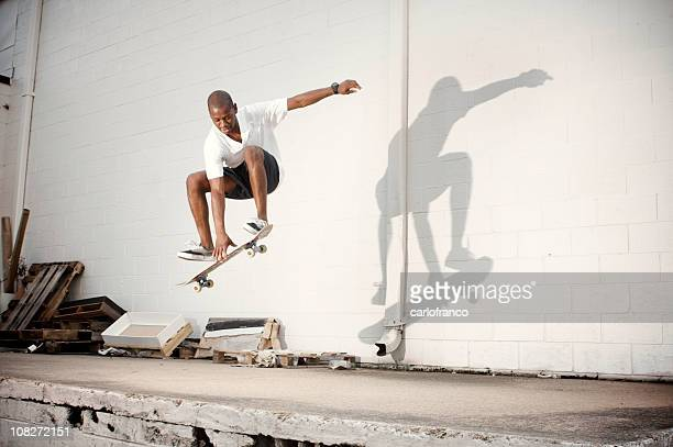 urban skate - black shorts stock pictures, royalty-free photos & images