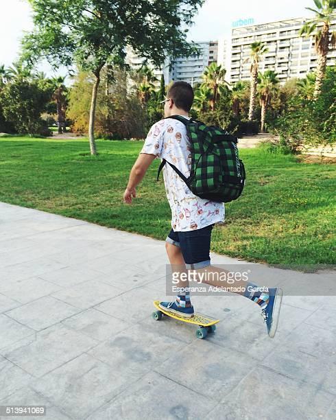 Urban skater in the park