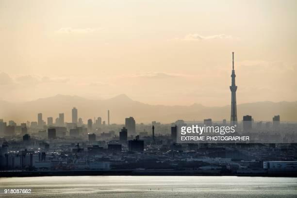 Urban skyline of Chiba