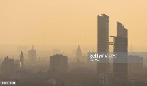 Urban skyline of Munich, Germany