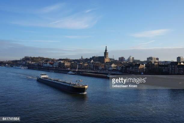 Urban Skyline of Nijmegen, the Netherlands