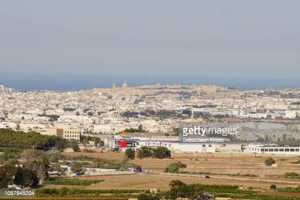 Urban skyline of Valletta and Surroundings, Mdina, Malta