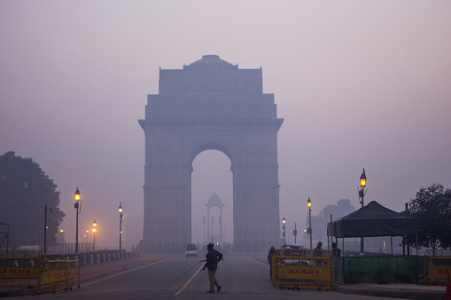 Urban Smog in Delhi - gettyimageskorea