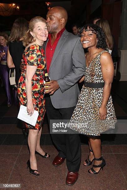 Urban Stages Founder Francis Hill Actor Ty Jones and Actress Kenita Miller attend the Urban Stages' 26th Annual Benefit Celebrating The Harlem...