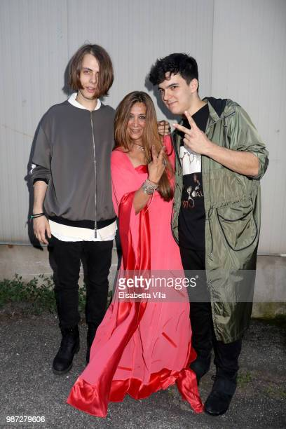 Urban Strangers and Paola Emilia Monachesi attend Sfilata AU197SM AltaRoma on June 29 2018 in Rome Italy