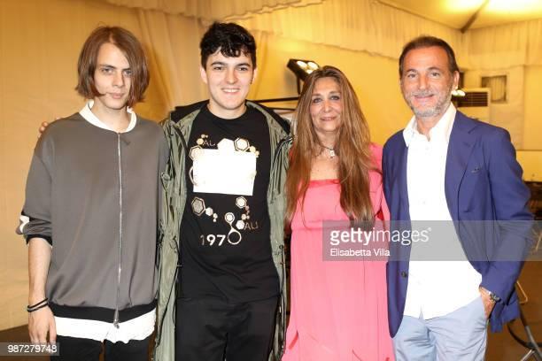 Urban Strangers Paola Emilia Monachesi and Stefano Maccagnani attend Sfilata AU197SM AltaRoma on June 29 2018 in Rome Italy