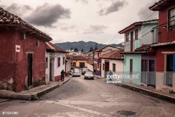 Urban Street in San Cristobal de las Casas