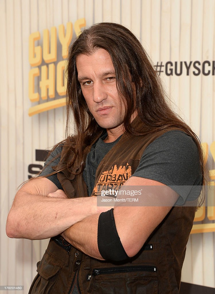 Urban Tarzan attends Spike TV's Guys Choice 2013 at Sony Pictures Studios on June 8, 2013 in Culver City, California.