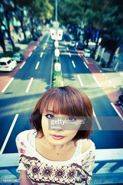 Urban Tokyo Japanese Woman Portrait