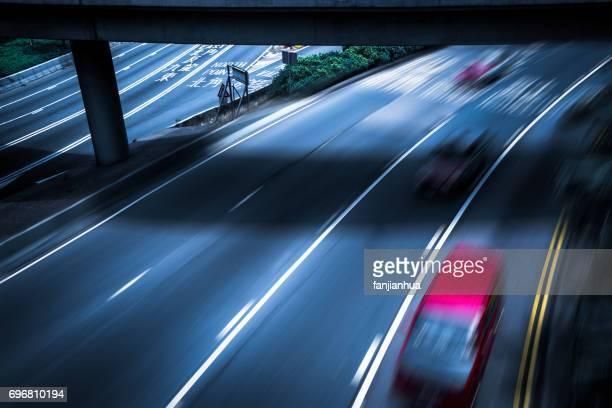 urban traffic view