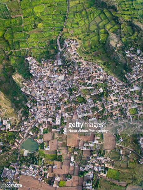 urbanisation of small towns. - nazar abbas photography stock pictures, royalty-free photos & images