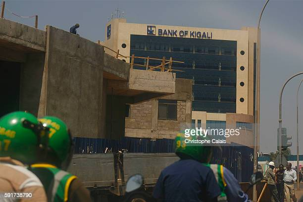 a view on the center of the city and the building of the Bank of Kigali Located at Rwandas geographical heart the rapidly growing City of Kigali is...