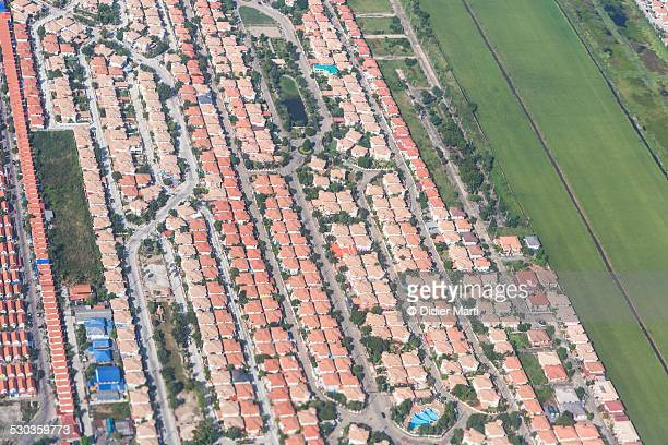 Urbanization around Bangkok