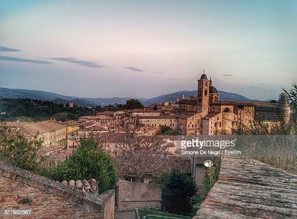 Urbino Cathedral Against Sky