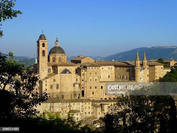urbino, italy (unesco world heritage) - frans sellies stockfoto's en -beelden