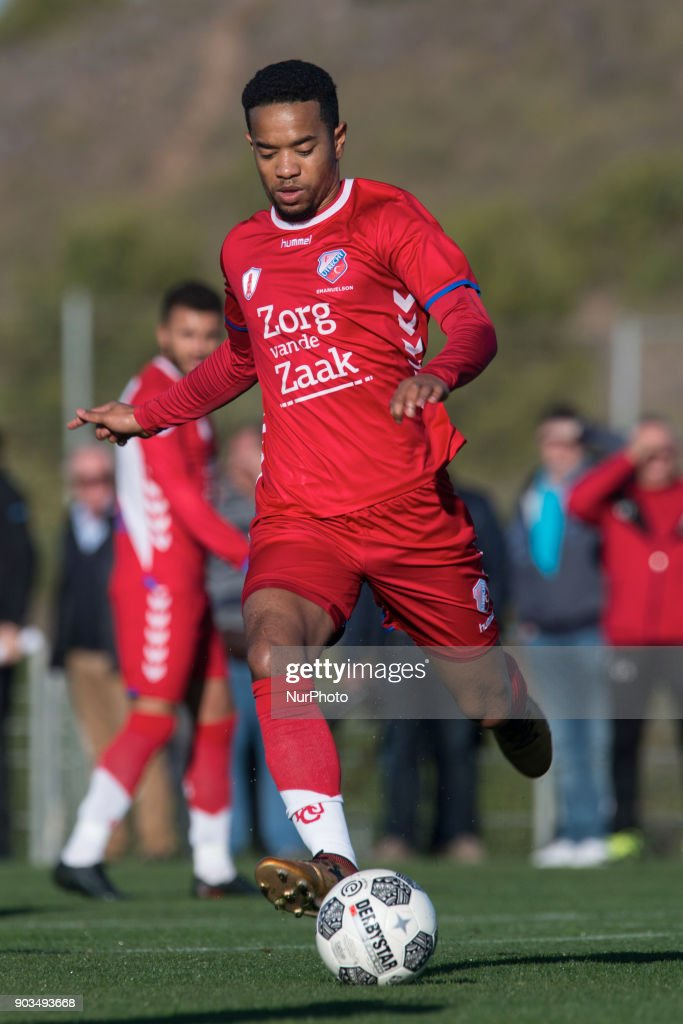 Urby Emanuelson during the friendly match between FC Utrecht vs. RSC Anderlecht at La Manga Club, Murcia, SPAIN. 10th January of 2018.