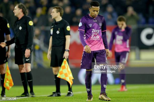 Urby Emanuelson of FC Utrecht during the Dutch Eredivisie match between NAC Breda v FC Utrecht at the Rat Verlegh Stadium on December 23 2017 in Breda