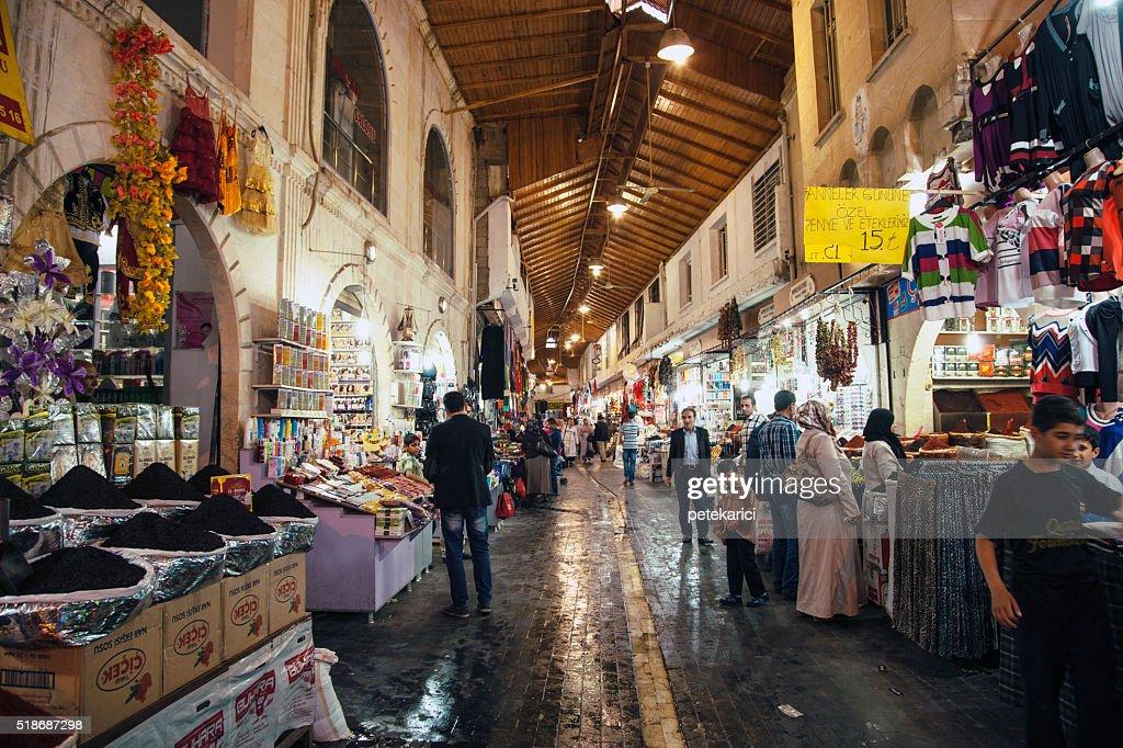 Urfa - Sanliurfa Bazaar : Stock Photo