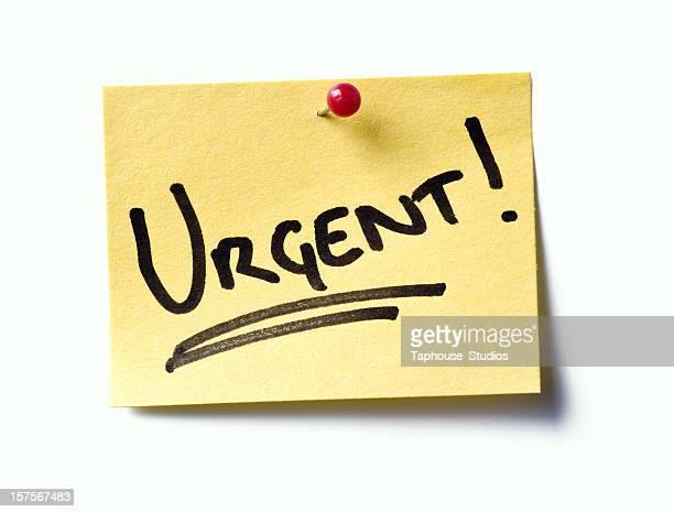 Urgent! post-it.
