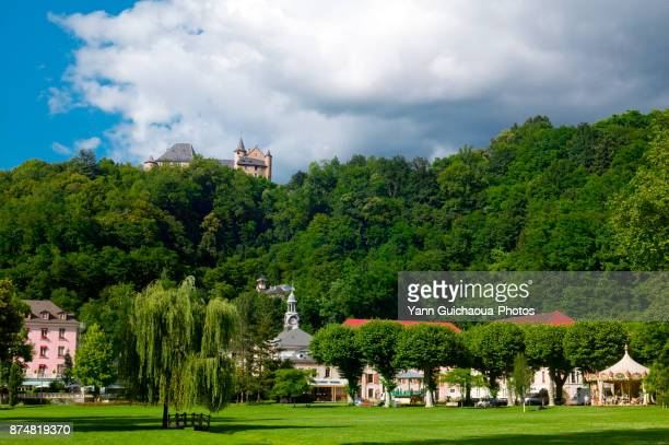 uriage les bains, isere, france - rhone alpes stock photos and pictures