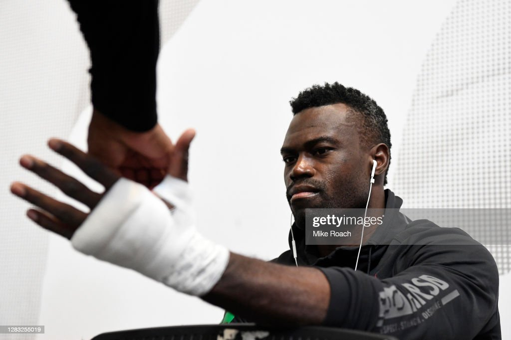 UFC Fight Night: Hall v Silva : News Photo