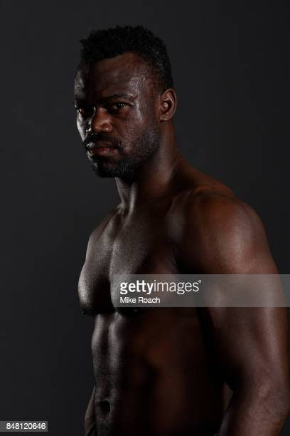Uriah Hall of Jamaica poses for a post fight portrait backstage during the UFC Fight Night event inside the PPG Paints Arena on September 16 2017 in...